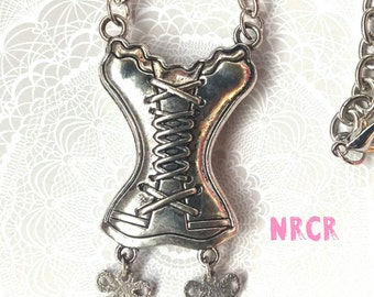 Corset 2 sided Necklace
