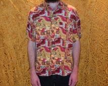Classic Heros Vintage Retro Mens Shirt