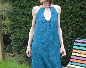 The Big Blue Dress
