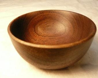 Tiny Wooden Bowl