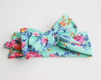 Baby headwrap, baby headband, toddler headband, baby bows, big bows