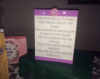 Set of 2 JW Greeting Cards Encouragment