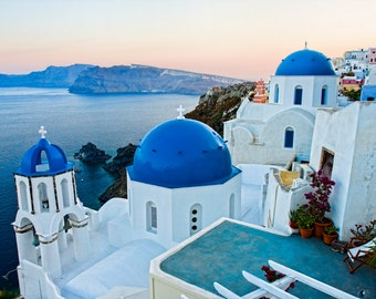 Travel Photography, Sunset Photography, Santorini Sunset