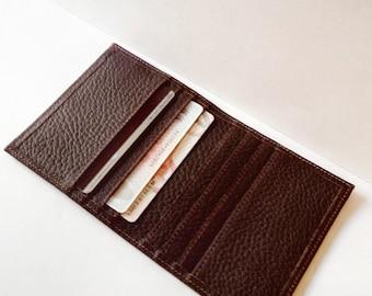 Leather Card Organizer