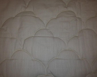 Custom Quilted bedspread - coverlet twin size