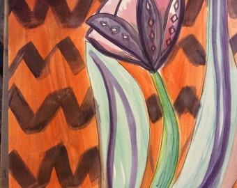 Zigzag Tulip