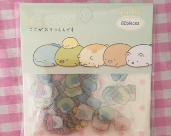 San-X Sumikko Gurashi kawaii sticker sack