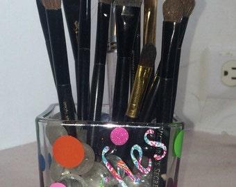 Make up brush holder