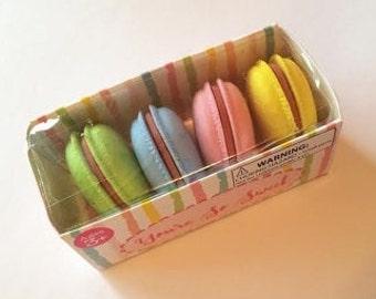 Erasers -- Target Dollar Spot; Macaron | Macaroon