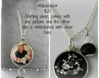 Custom Portrait Necklace