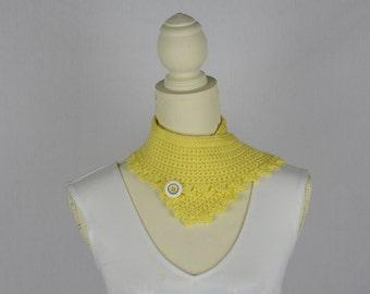 Crochet Yellow - Dandelion Neck Warmer