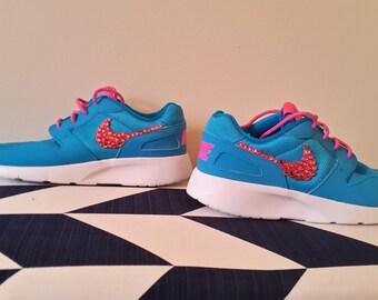 Rhinestone Nike Shoes.