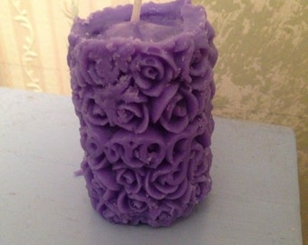 Rose Shaped Candle