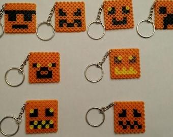 Minecraft Halloween keychains - Set of 8