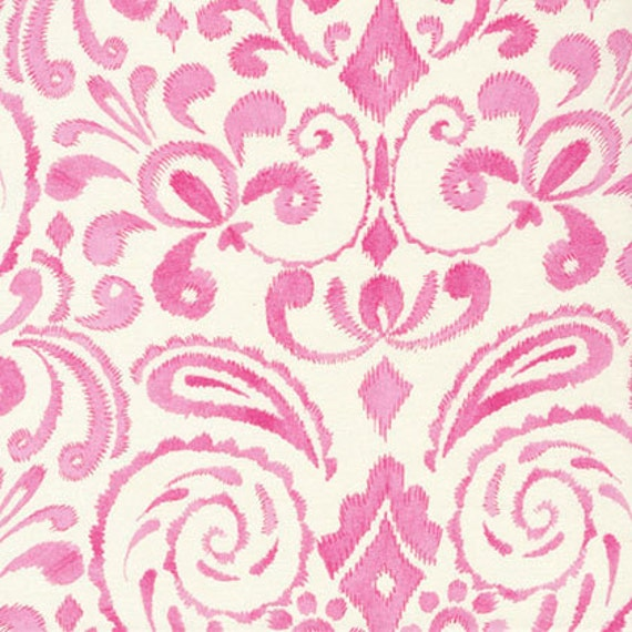 Last yard dena designs kumari garden marala in pink fabric by for Kumari garden fabric by dena designs