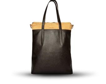 Handmade handbag of natural leather - Indre A