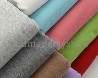 Thick Non-inverted Velvet Fabric, Solid Cotton Velvet for Warmth Underware Clothes DIY Making (JJ328)