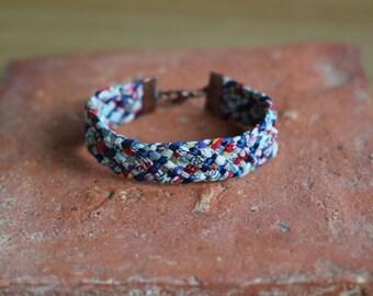 Bracelet liberty trend, woven hand