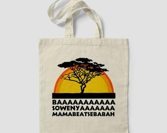BAAA Jungle King Lion Dope Fashion Movie Cute TOTE BAG Shopping bag