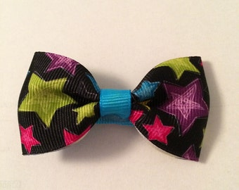 Colorful Star Barrette