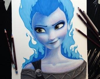 Hades + Elsa = Hellsa