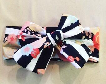 Flirty Floral Headwrap
