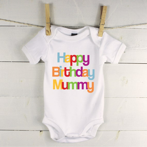 Happy Birthday Baby Vest Birthday Gift For Family Birthday