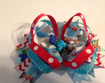 Toy Story  Layered Hair Bow