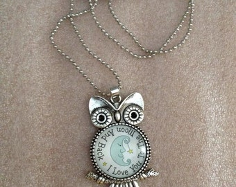 Women's Accessories NECKLACE Girl Owl Pendant With Written