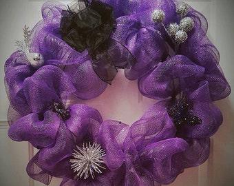 Purple Wreath!