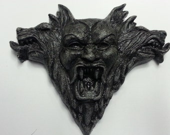DRACULA Stone Wall Relief - Gray/Black