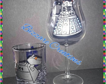 His and hers Dr Who glasses