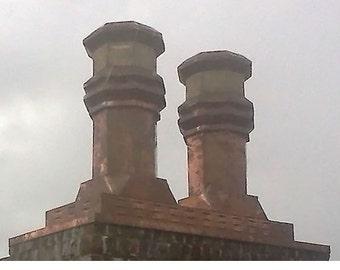 Windsor Copper Chimney Cap* by ClassicCopper.com