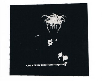 Darkthrone Metal Band Patch