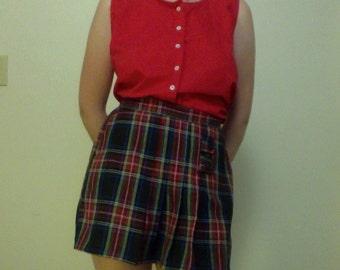 adorable plaid pleated skort COLOR CIRCUIT girlswear