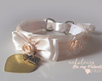 La vie en rose - Be my Valentine collection - Nekolaces tug proof collar