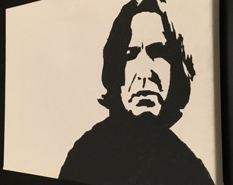 Severus Snape acrylic on canvas
