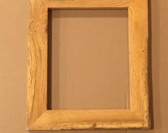 8x10 Rustic Oak Frame (#534)