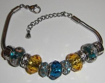 Color Bracelet - TEAL