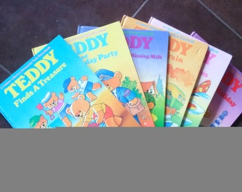 Teddy book collection