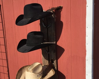 3 Hat Cowboy Hat Rack