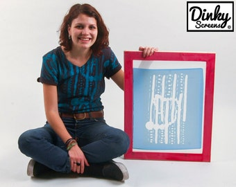 Dinky Going Large A4 Silk Screen Printing Kit. Create your own silk screen