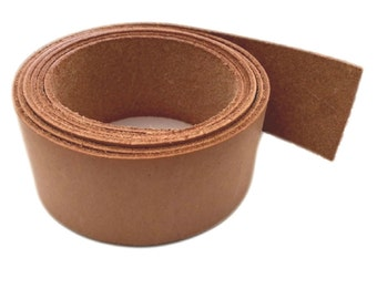 "Leather Strips 1 1/4"" - 32MM Width 