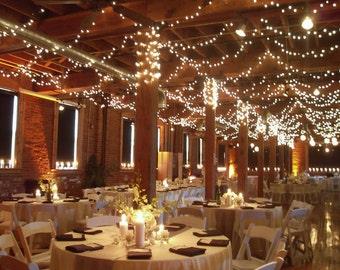 164 feet 400 LED String Fairy Lights Wedding Garden Party Xmas Lights WARM WHITE