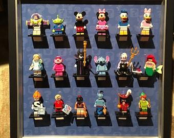 Display frame for Lego Disney minifigures