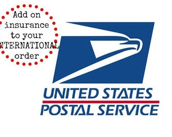 Add on shipping insurance for INTERNATIONAL orders