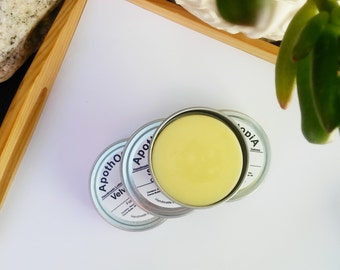 Lemongrass Lotion Bar - Solid Lotion Balm, Old Fashioned & Non Greasy, Moisturizer, Body Cream, Foot Cream, Eco Friendly, Sustainable