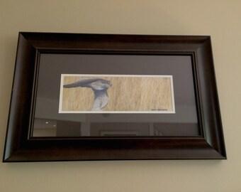 "First Pass - Original Acrylic Painting - 5.5""X14"""