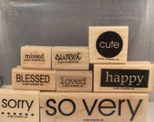 So Very - Stampin Up retired stamp set - Used