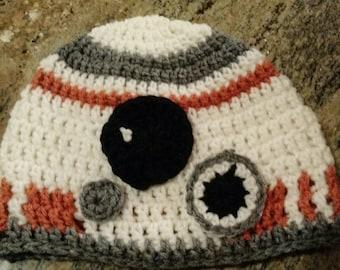Star Wars BB-8 Inspired Beanie